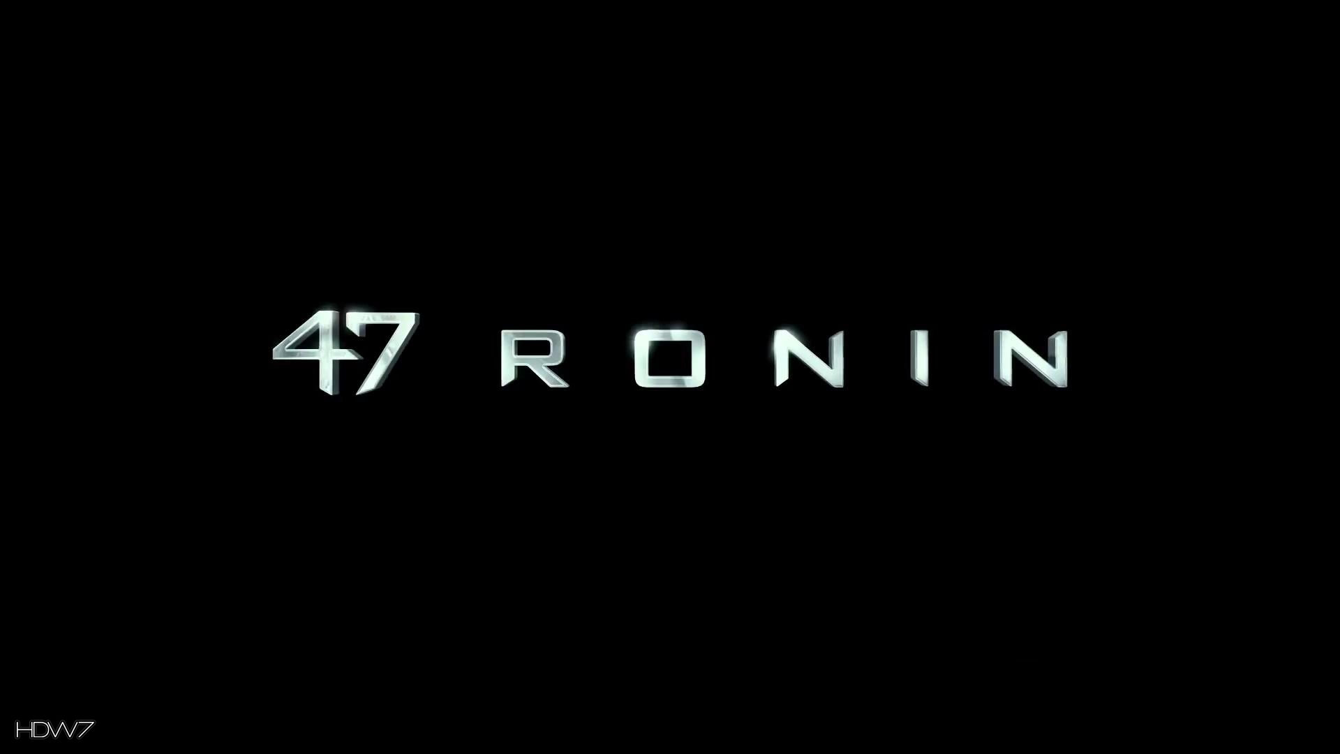 47 ronin logo wallpaper 1920x1080