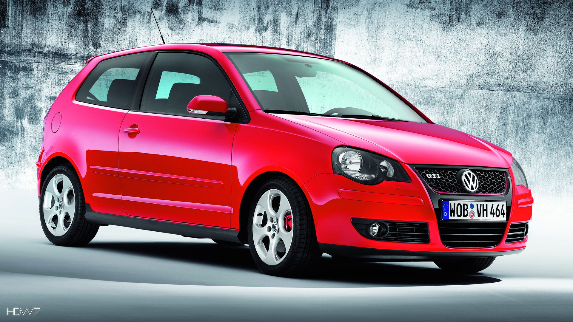 volkswagen polo gti 2006 car hd wallpaper