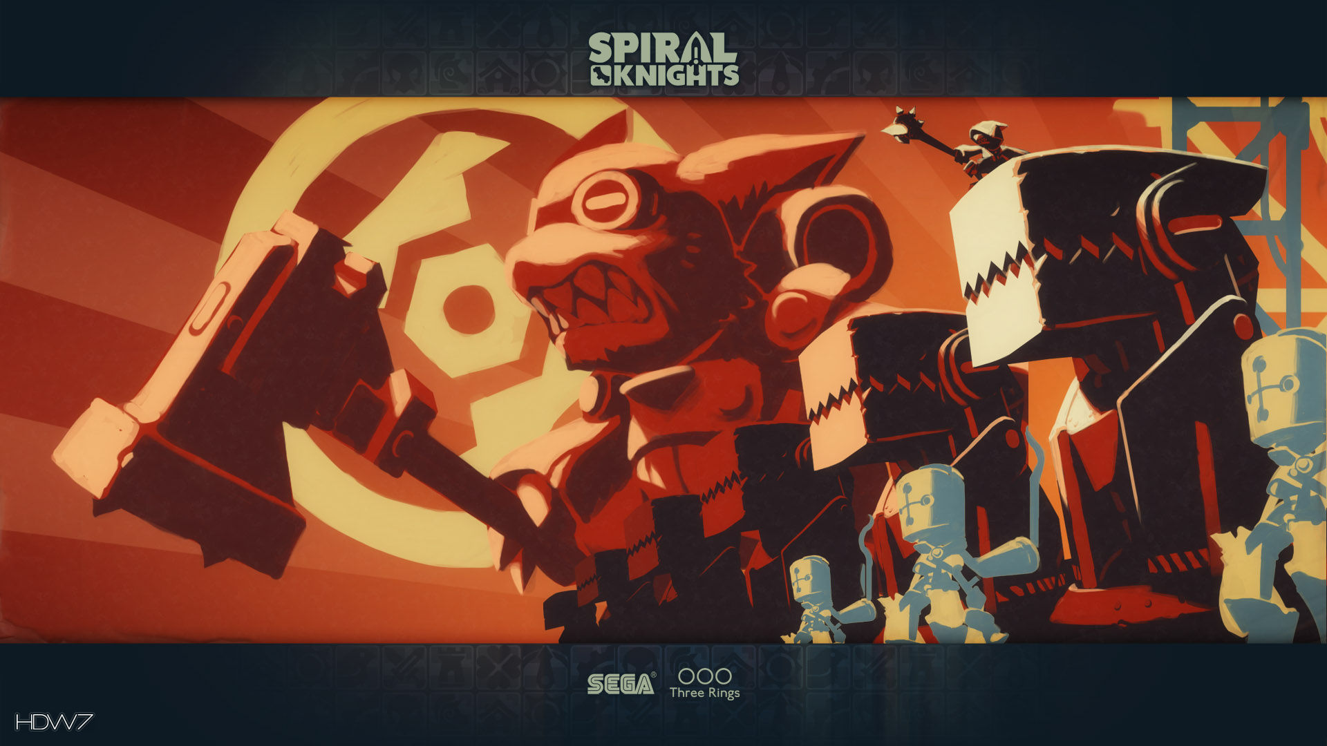 spiral knights ironclaw munitions factory widescreen hd wallpaper