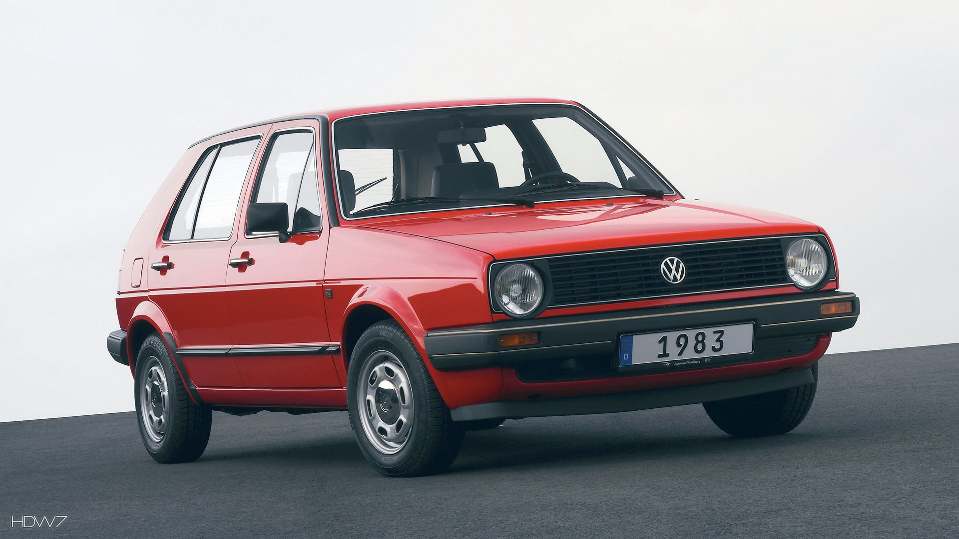 Volkswagen Golf 2 1983 1991 Car Hd Wallpaper