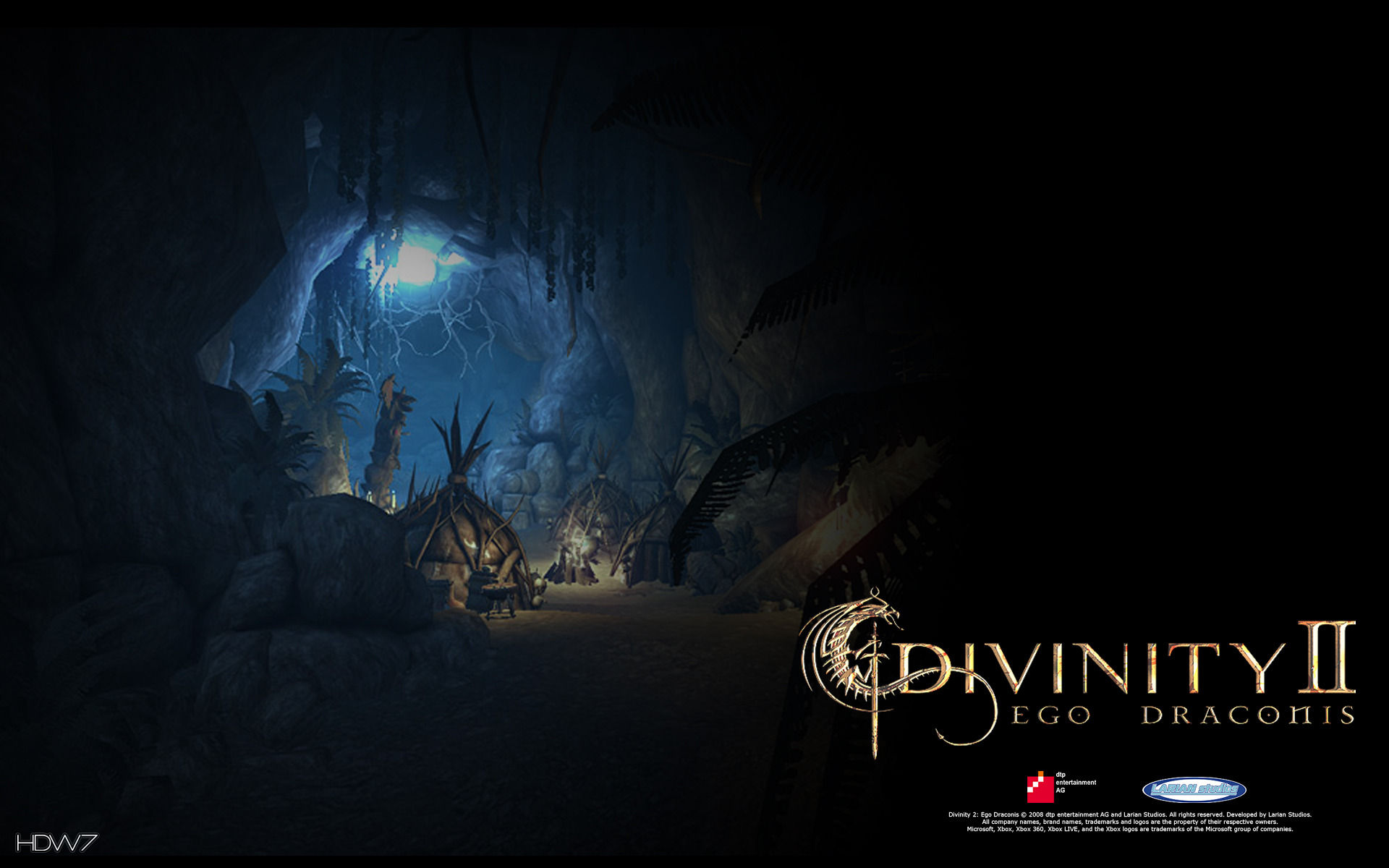 divinity 2 underground environment widescreen wallpaper