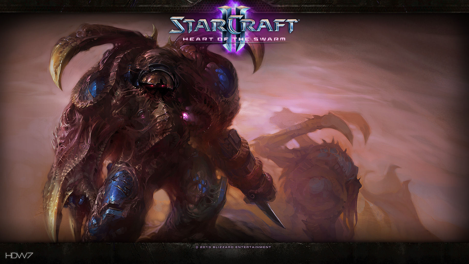 Starcraft 2 Heart Of The Swarm The Education Of Pfc Shane Widescreen Hd Wallpaper Hd Wallpaper Gallery 155