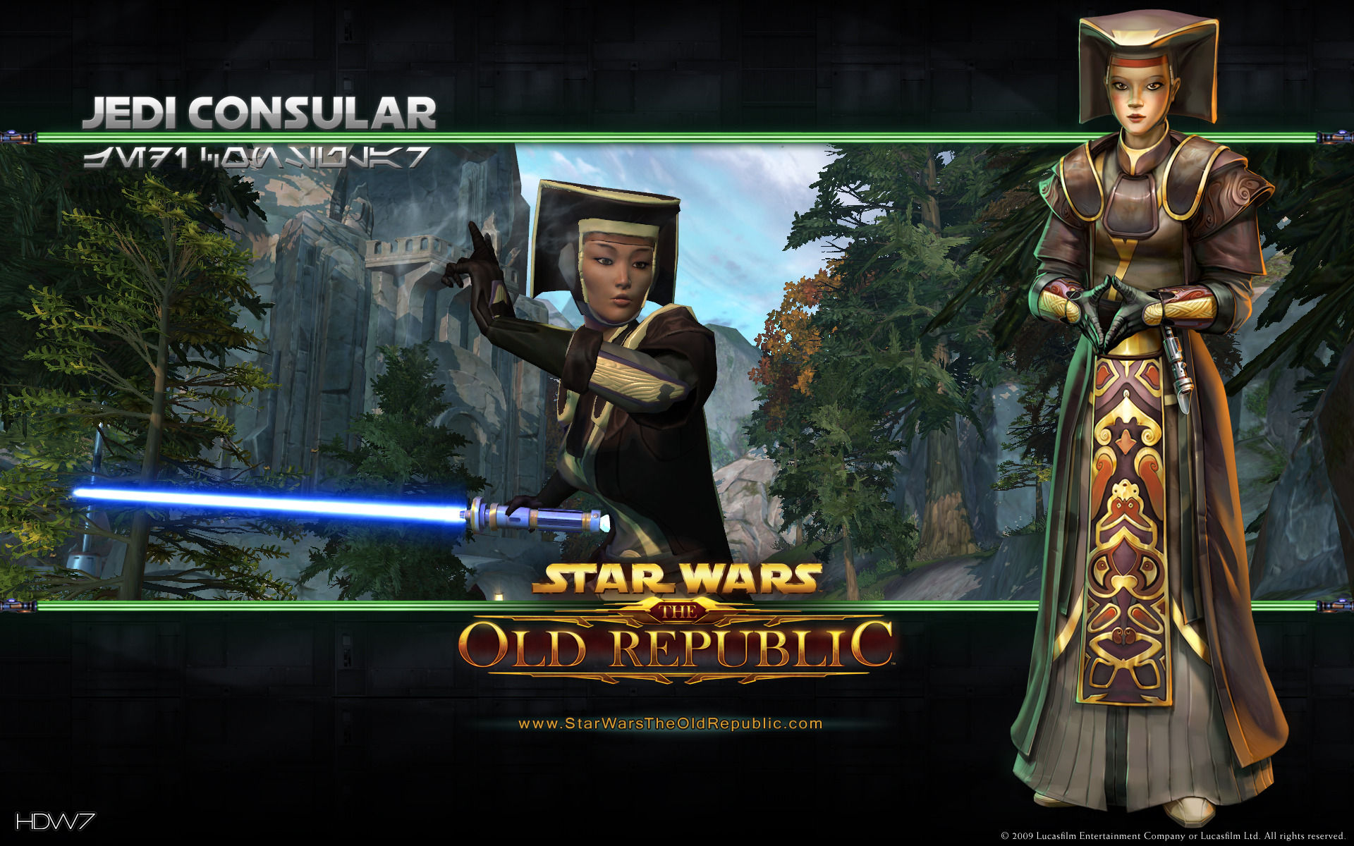Star wars the old republic jedi consular widescreen for Who is a consular