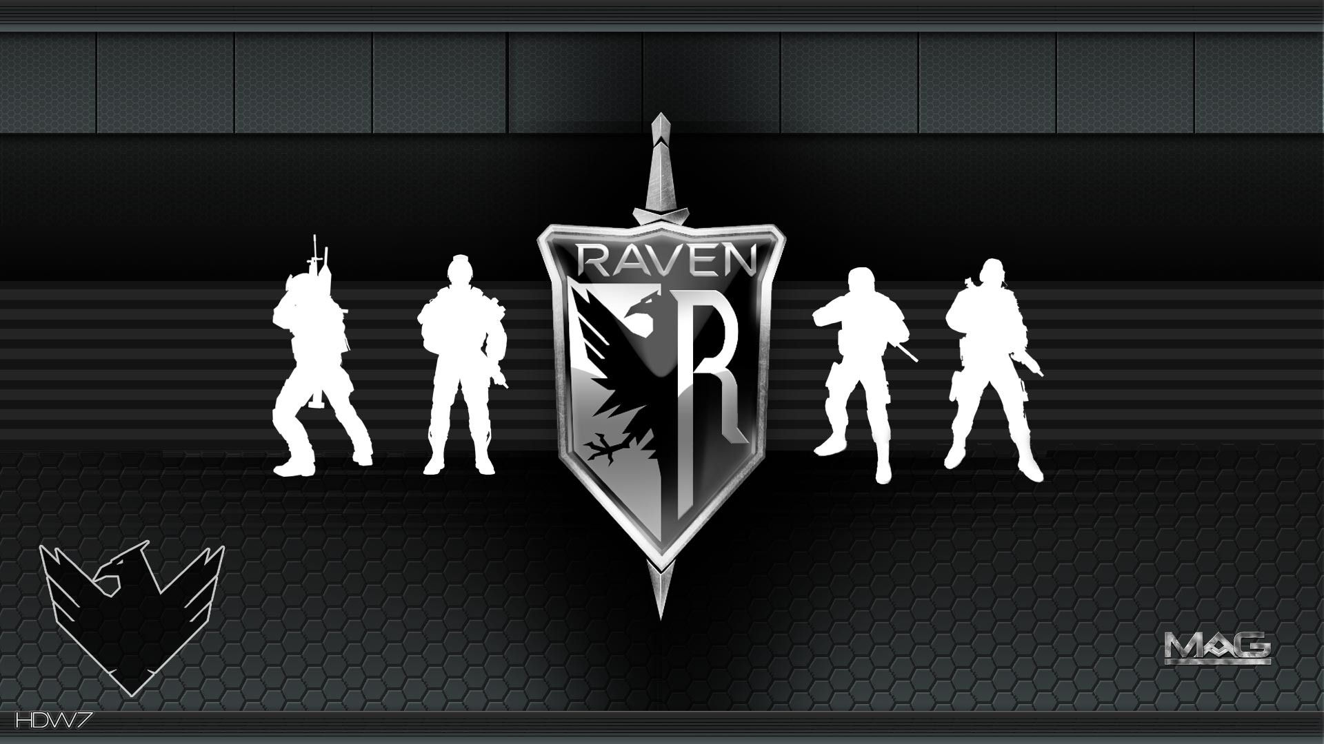 mag raven widescreen hd wallpaper