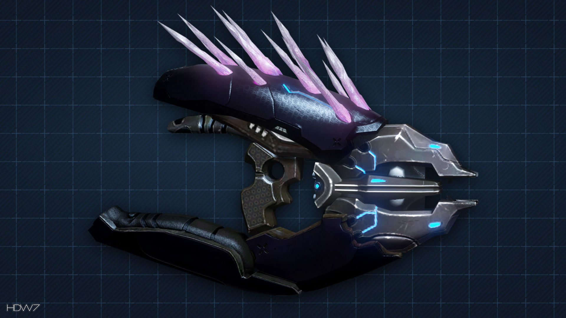 halo 4 needler widescreen hd wallpaper