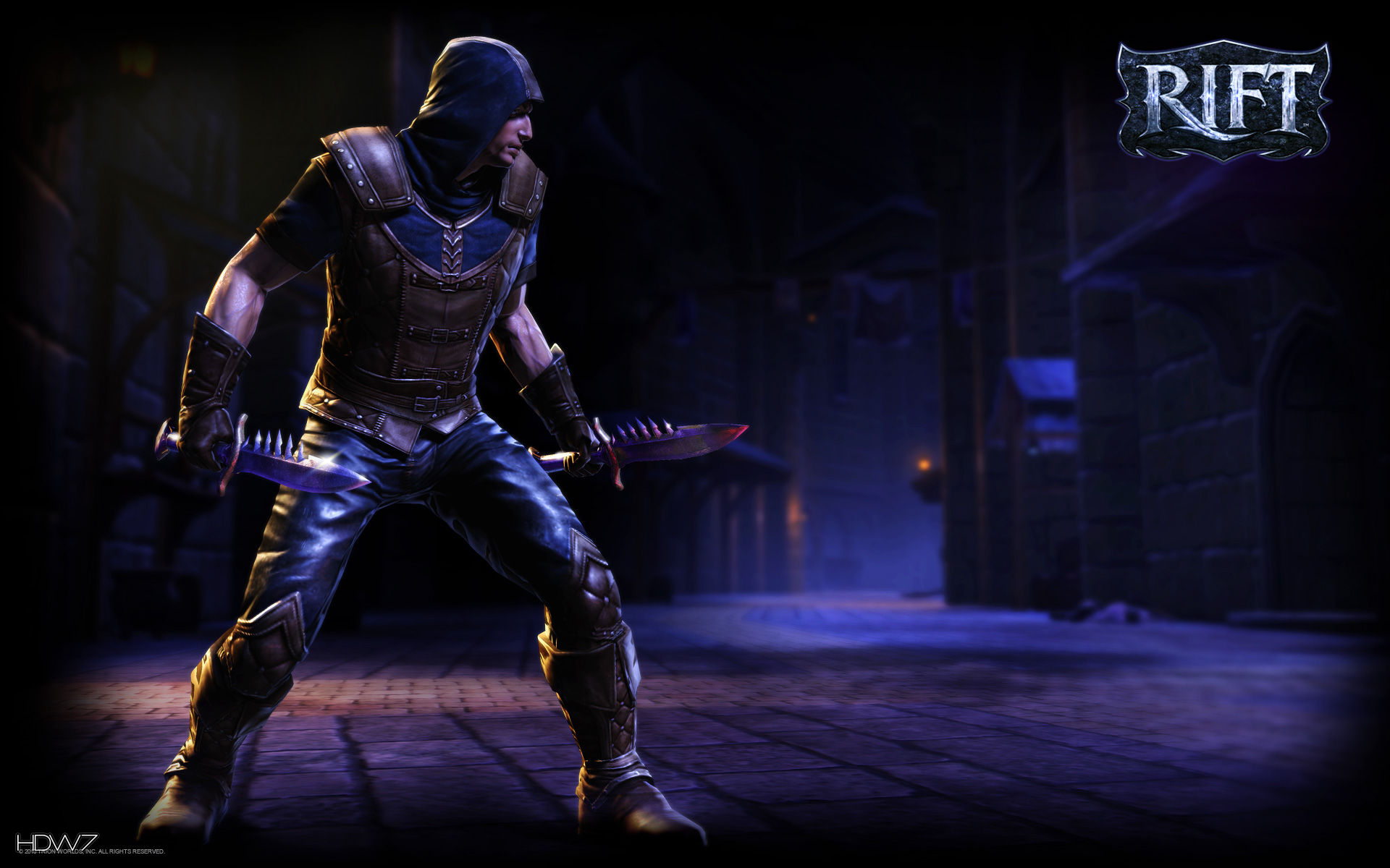 rift rogue male widescreen wallpaper