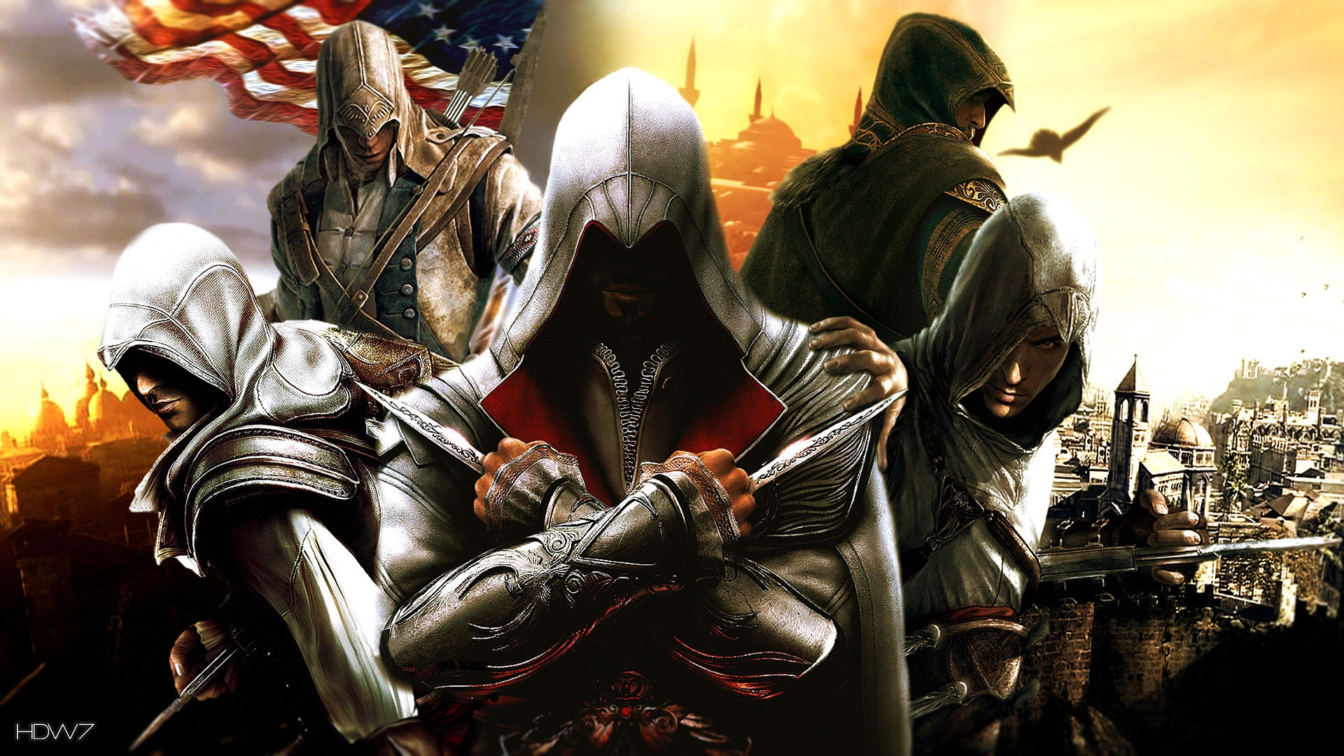 Assassins Creed Game Desmond Miles Hd Wallpaper Gallery 192
