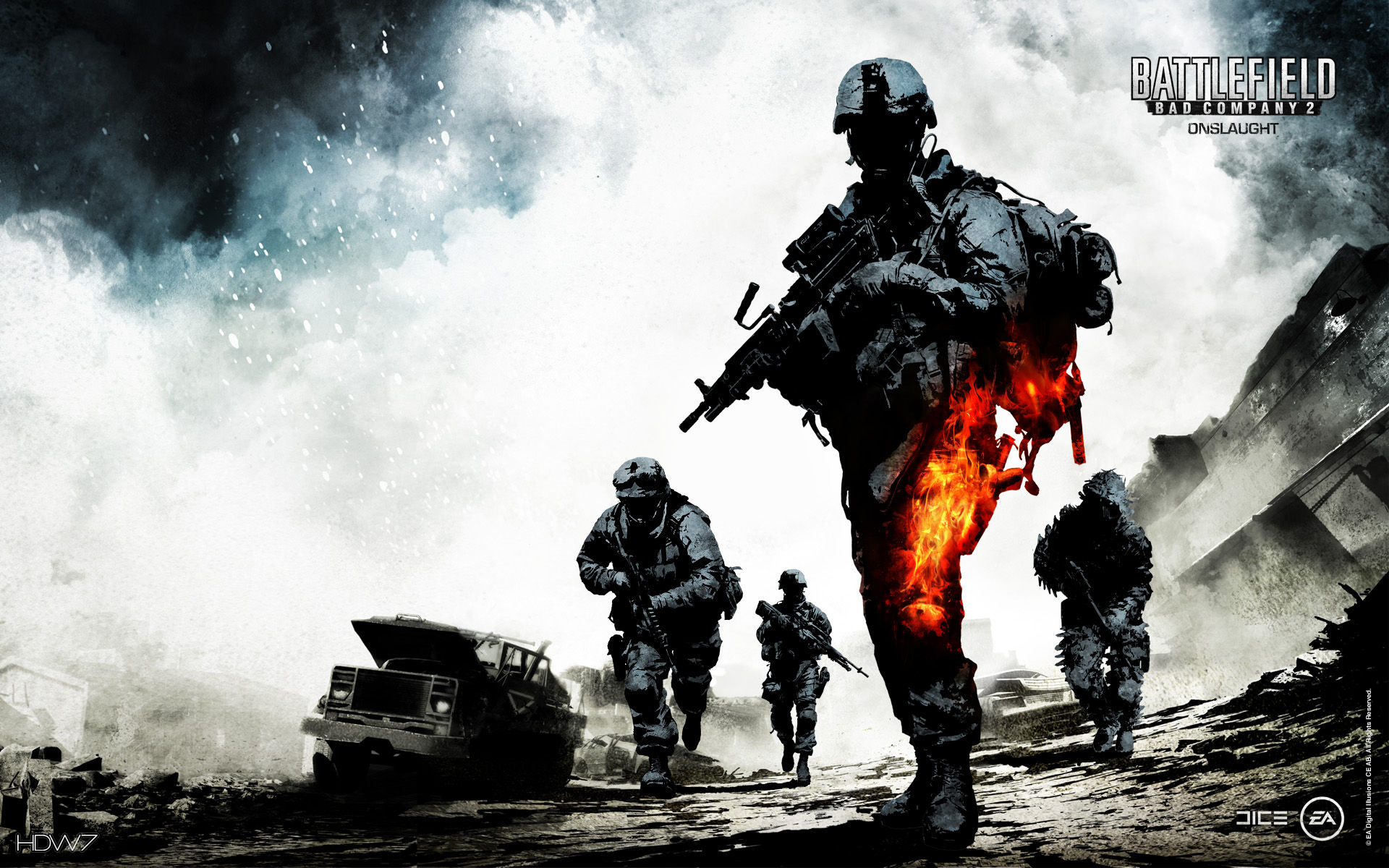 battlefield bad company 2 wallpaper 1920x1200