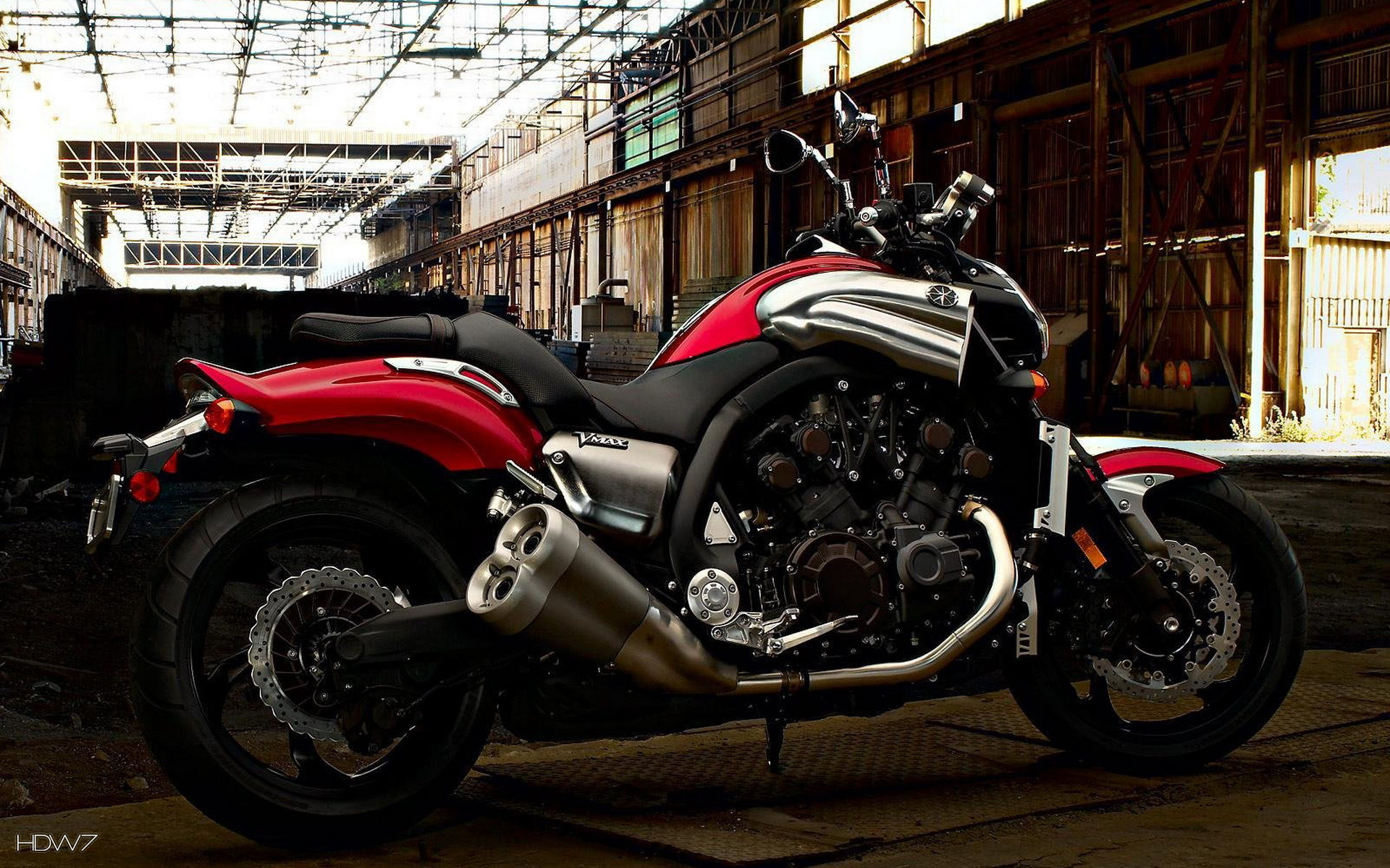 Yamaha Vmax Chopper Wallpaper