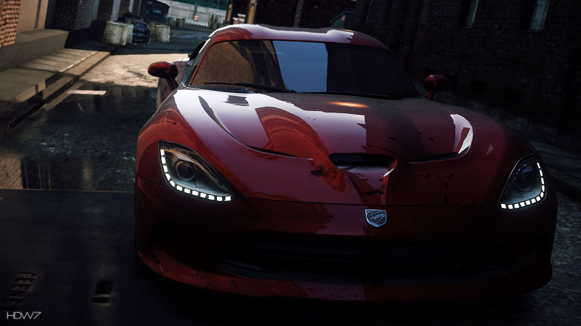 Need For Speed Most Wanted 2012 Srt Viper Gts Widescreen Hd Wallpaper