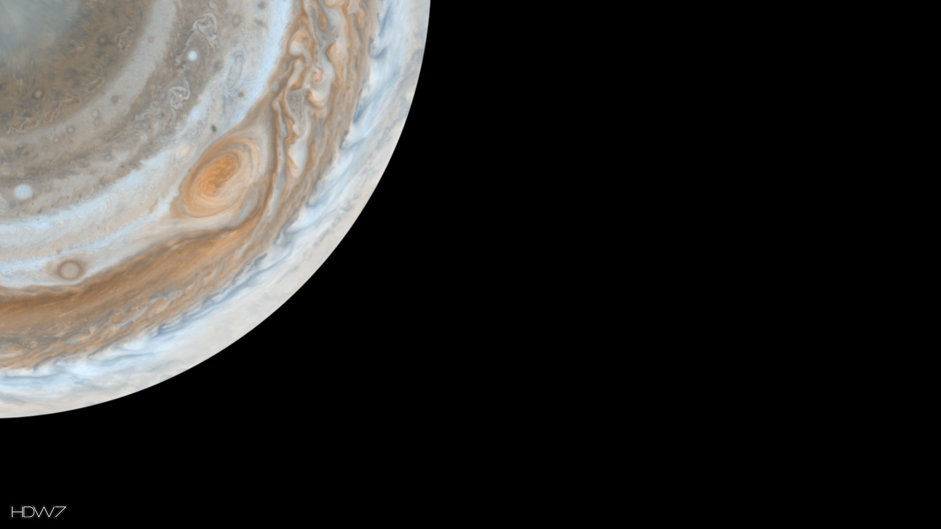 Jupiter South Pole Desktop 1920x1080 Hd Wallpaper