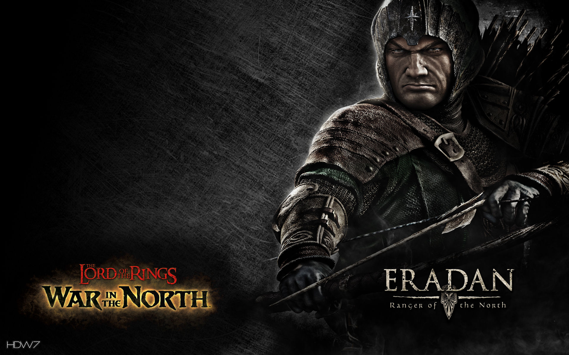 Lord Of The Rings War In North Ranger Widescreen Wallpaper