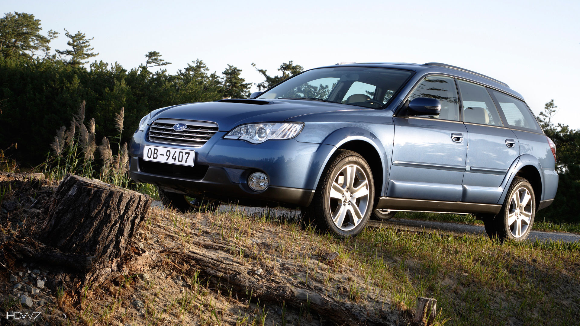 Subaru Outback 20d 2008 Car Hd Wallpaper