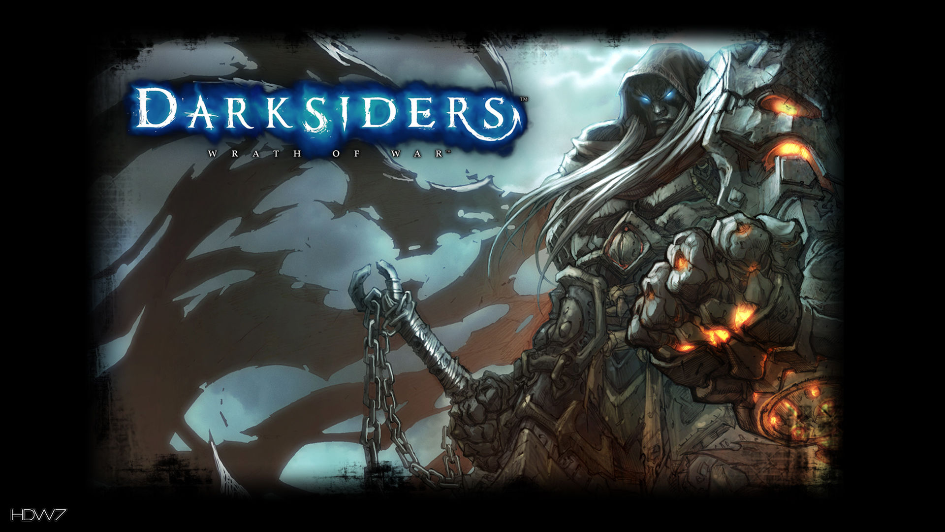 darksiders wrath of war awesome abilities widescreen hd wallpaper