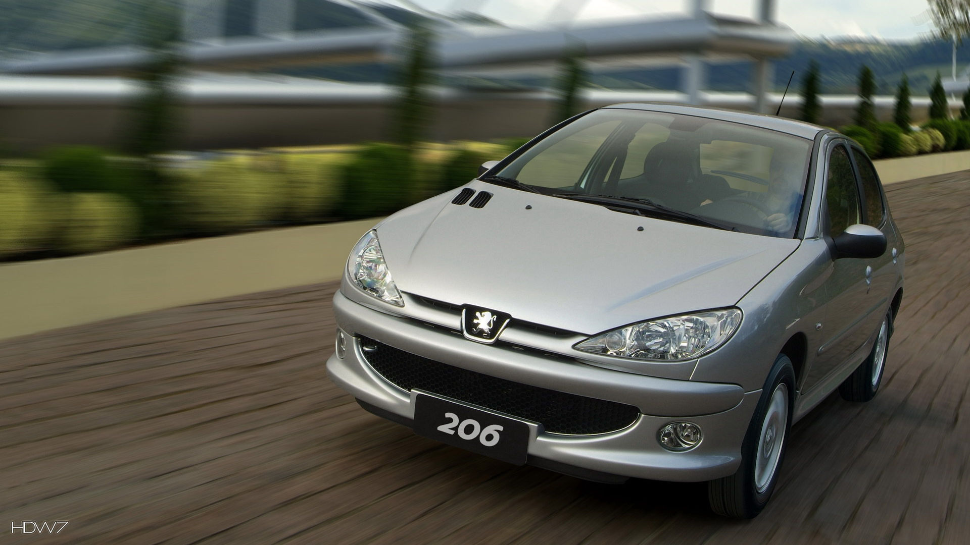 Peugeot 206 2008 Car Hd Wallpaper Hd Wallpaper Gallery 258