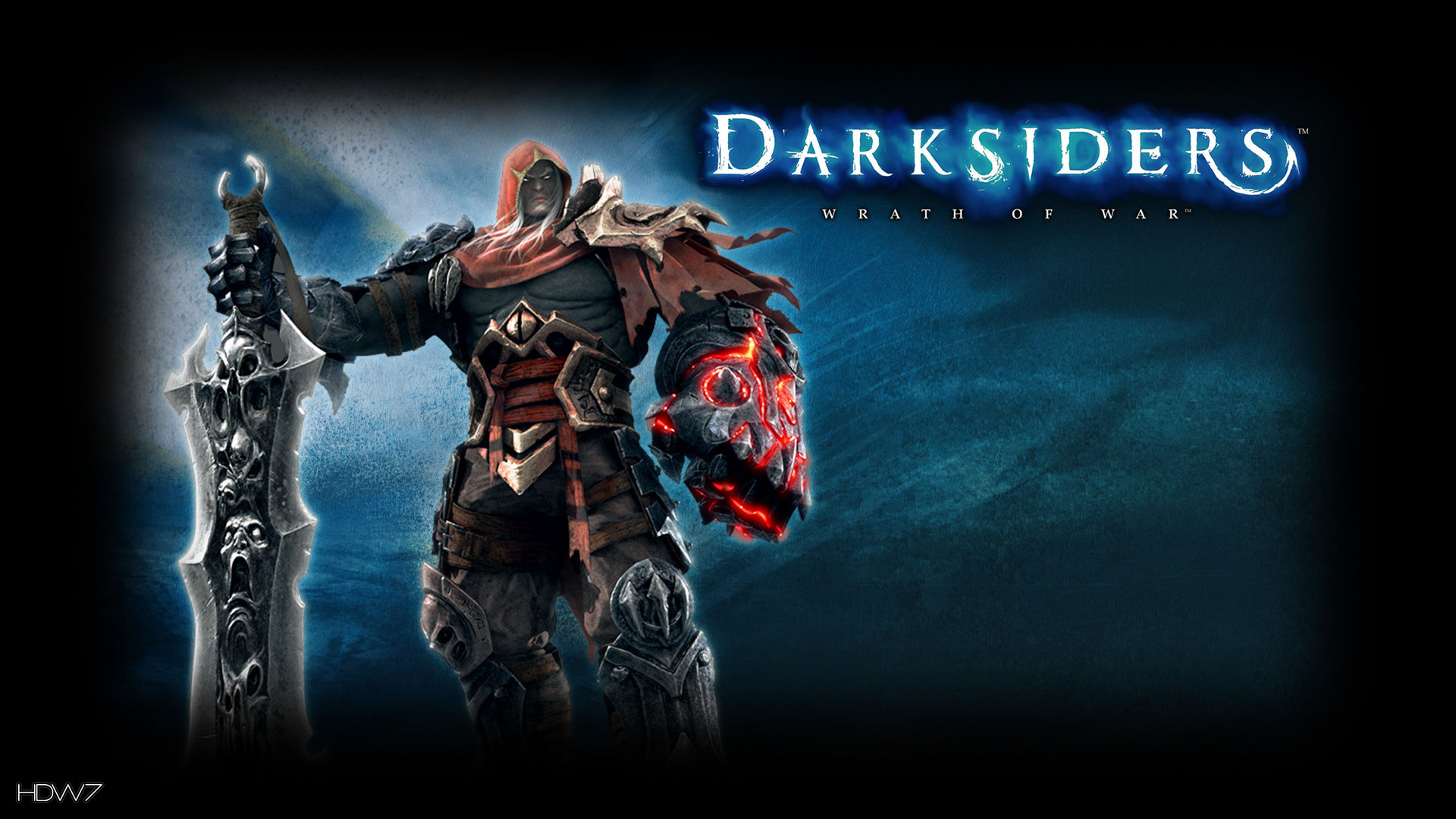 darksiders wrath of war quest of revenge widescreen hd wallpaper