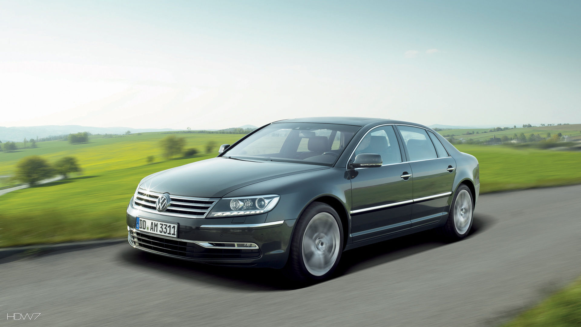 volkswagen phaeton 2011 car hd wallpaper