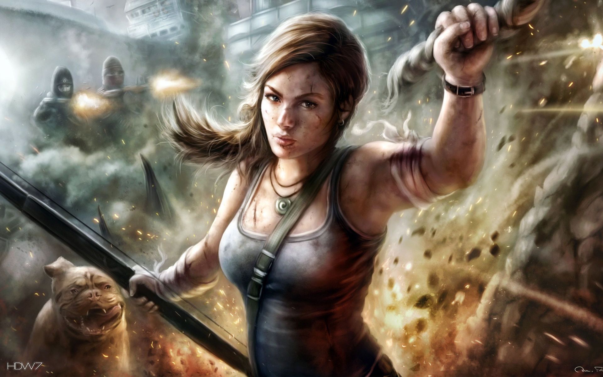 art lara croft hd