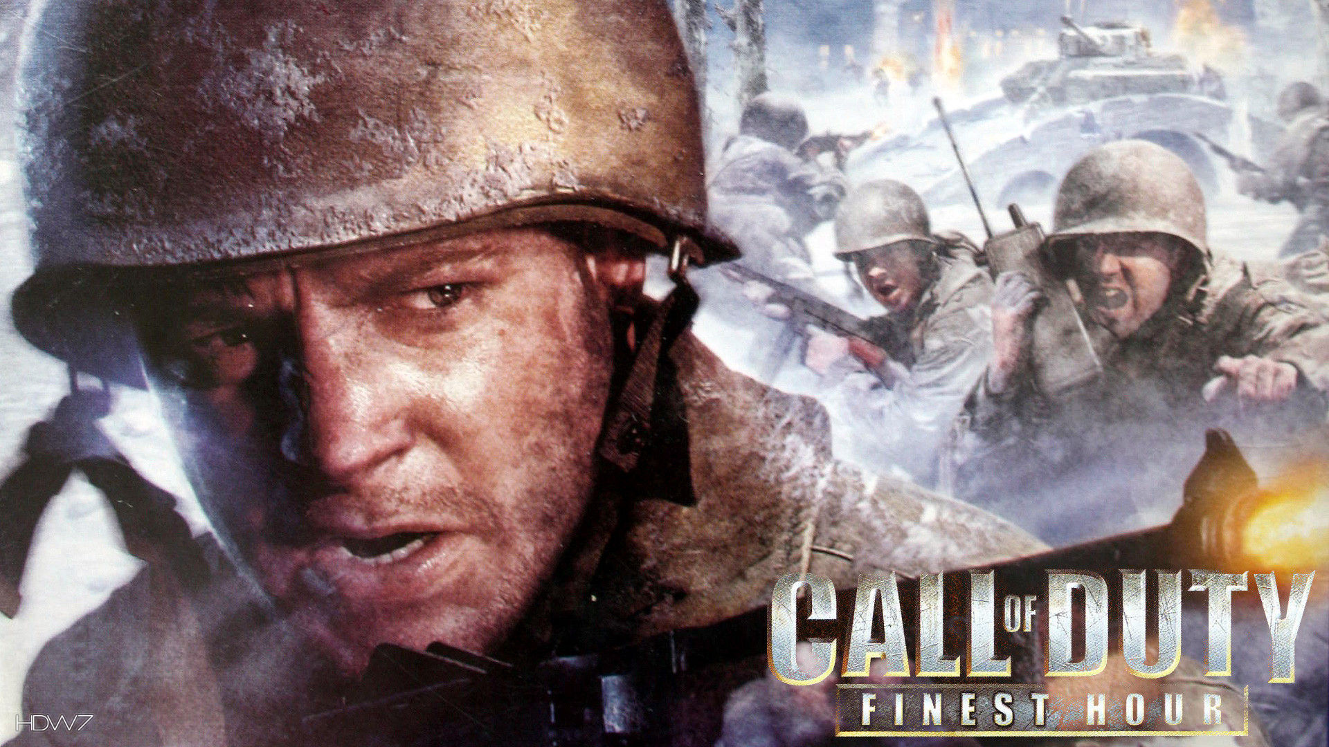 Call Of Duty Finest Hour Game Hd Wallpaper Gallery 274