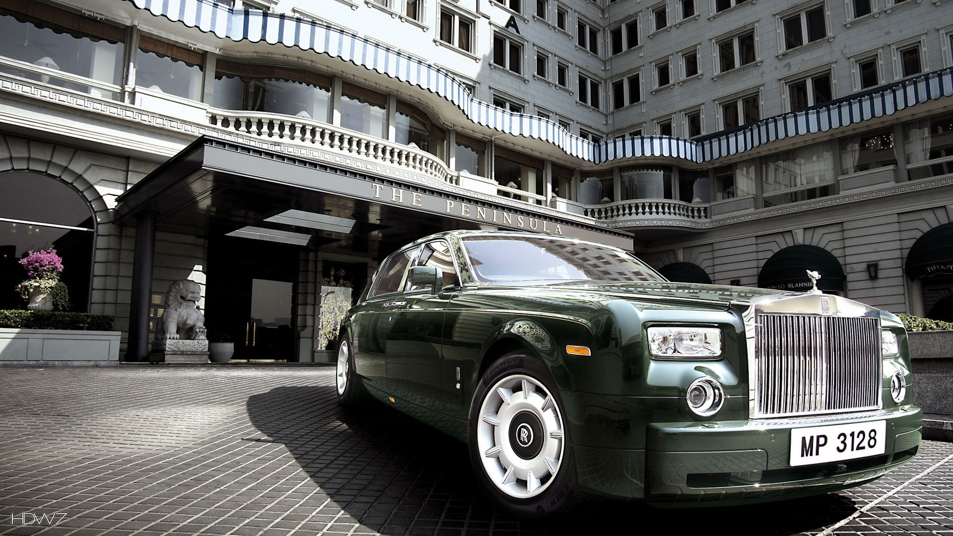 rolls royce phantom peninsula hong kong 2006 car hd wallpaper