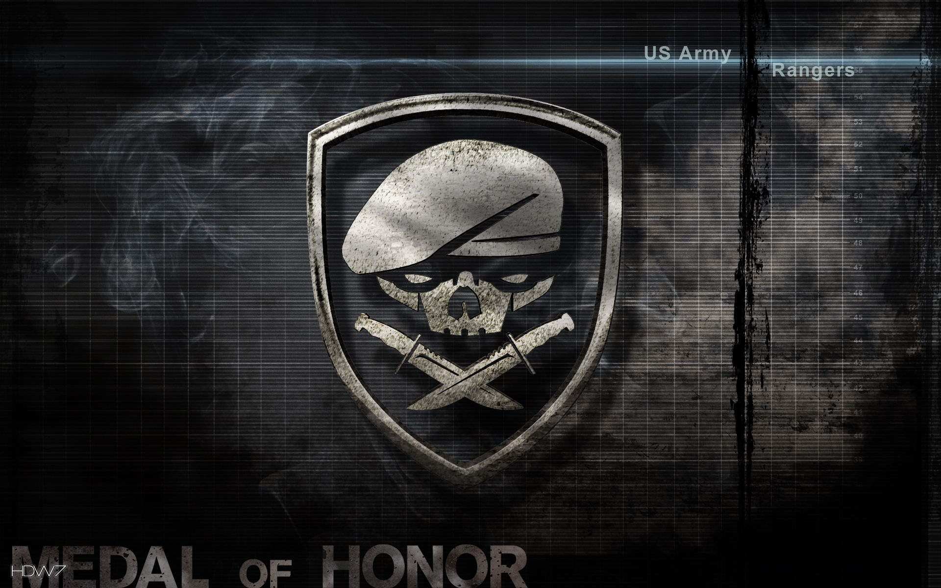 Medal of honor us army rangers widescreen wallpaper hd wallpaper medal of honor us army rangers widescreen wallpaper voltagebd Image collections