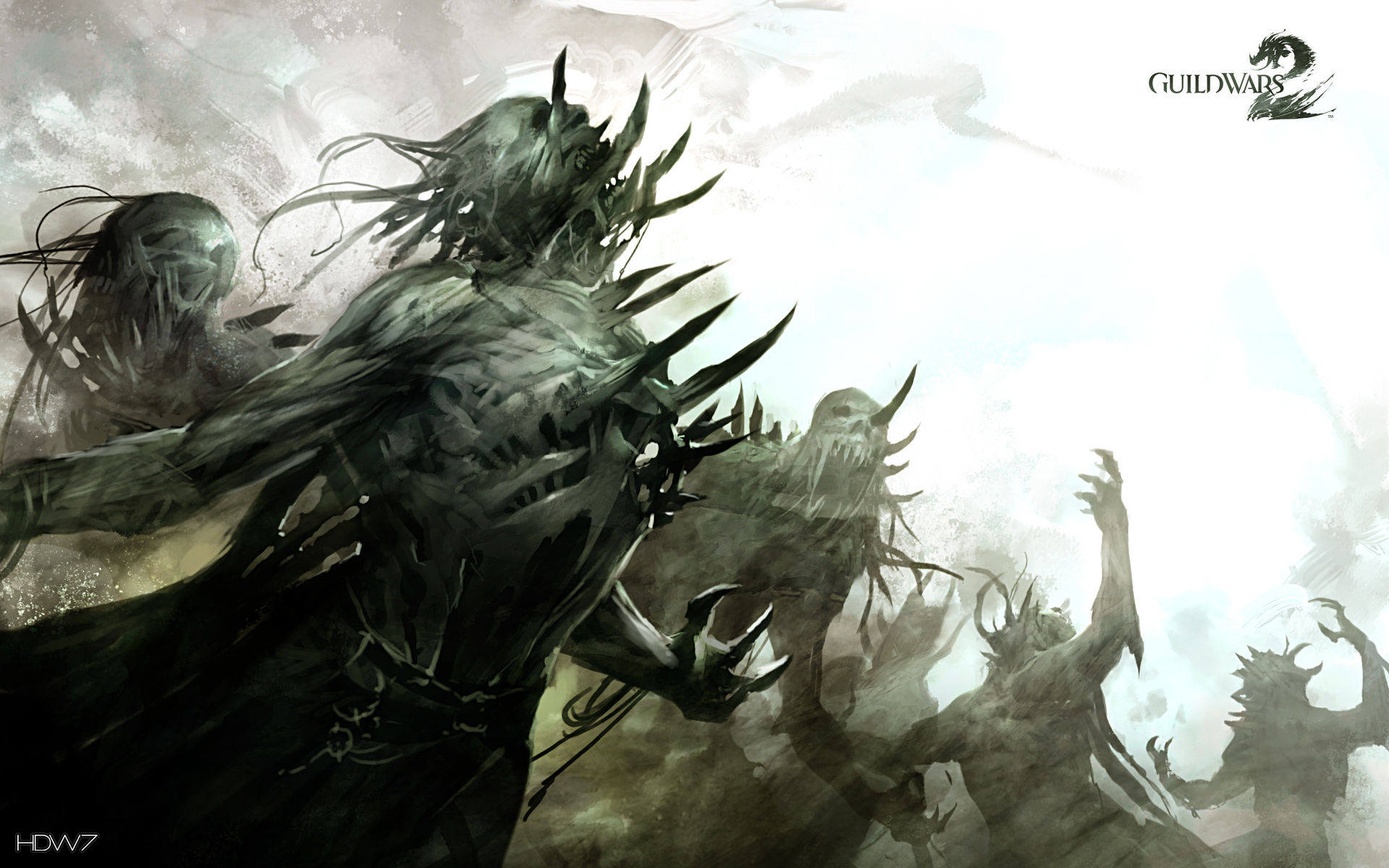 Guild Wars 2 Undead Minions Widescreen Wallpaper Hd Wallpaper Gallery 297