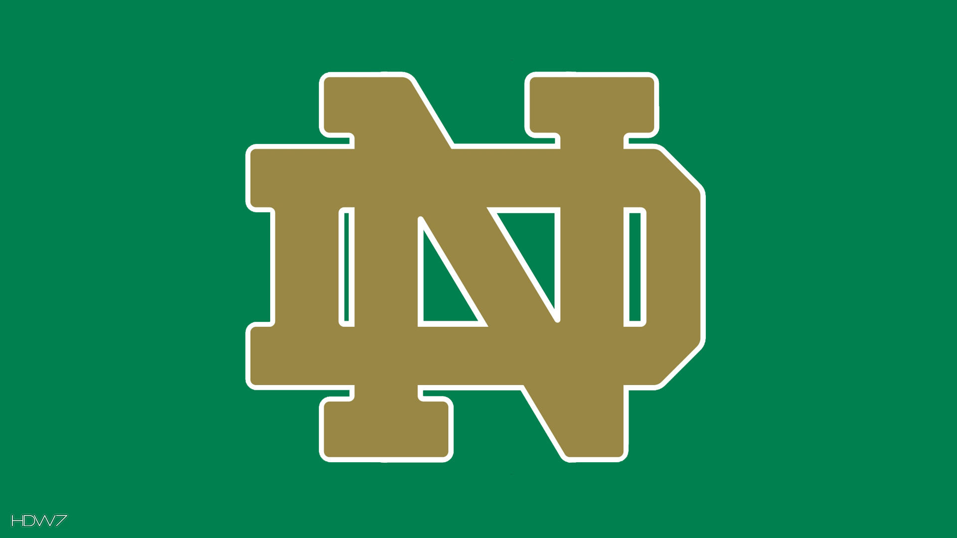 Notre Dame Gold Logo Hd Wallpaper Gallery 305