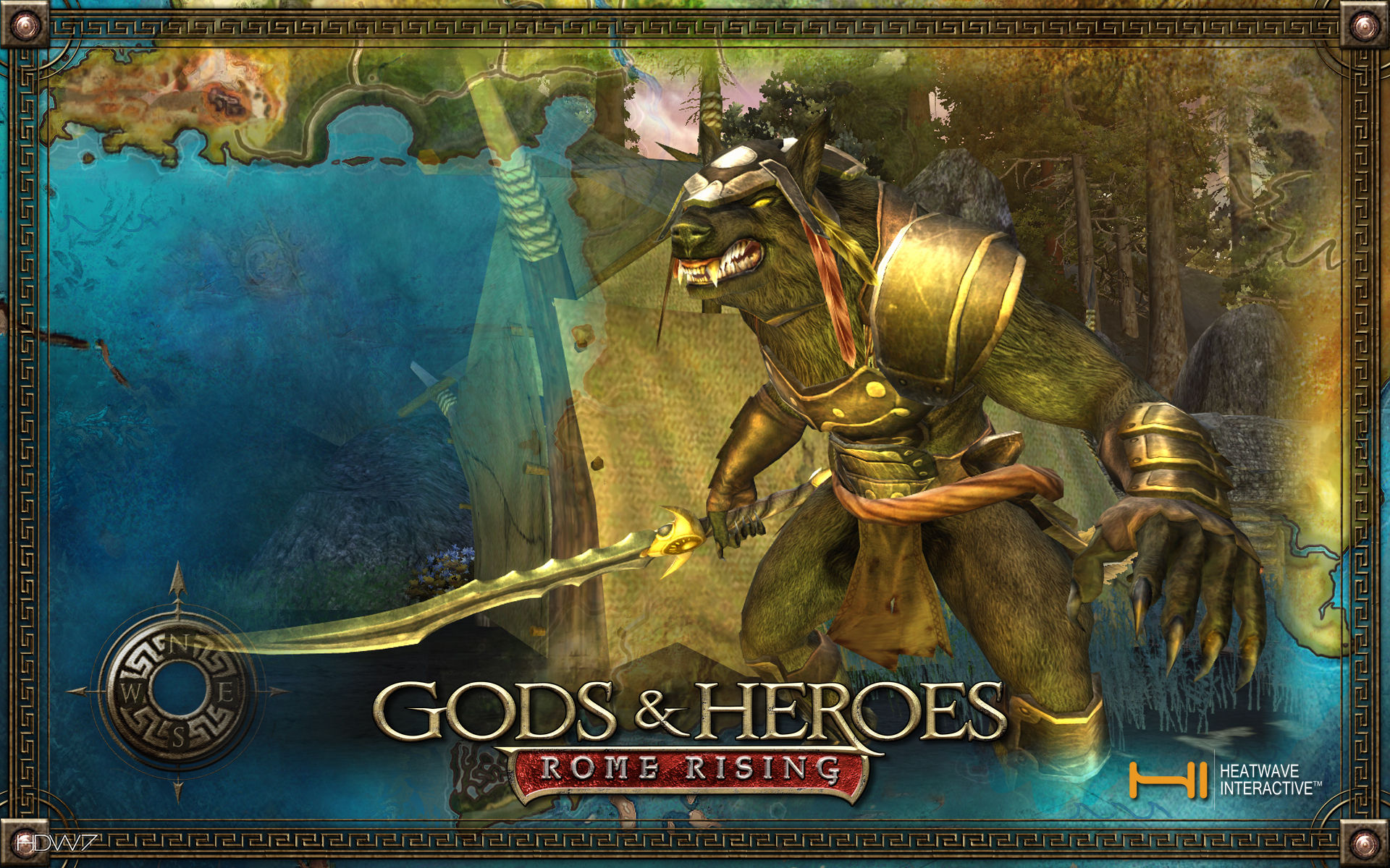 gods and heroes rome rising volta myth widescreen wallpaper