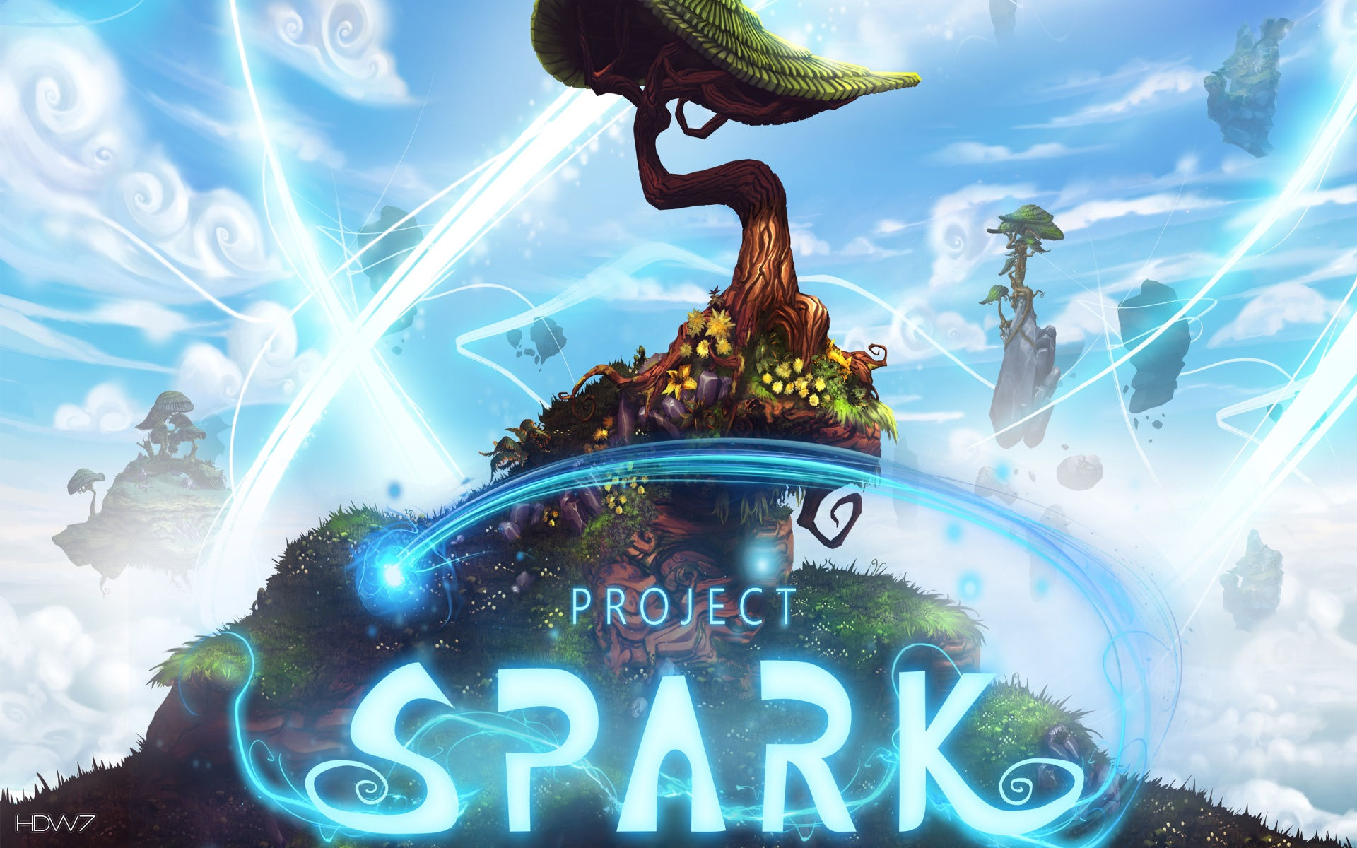 project spark game widescreen