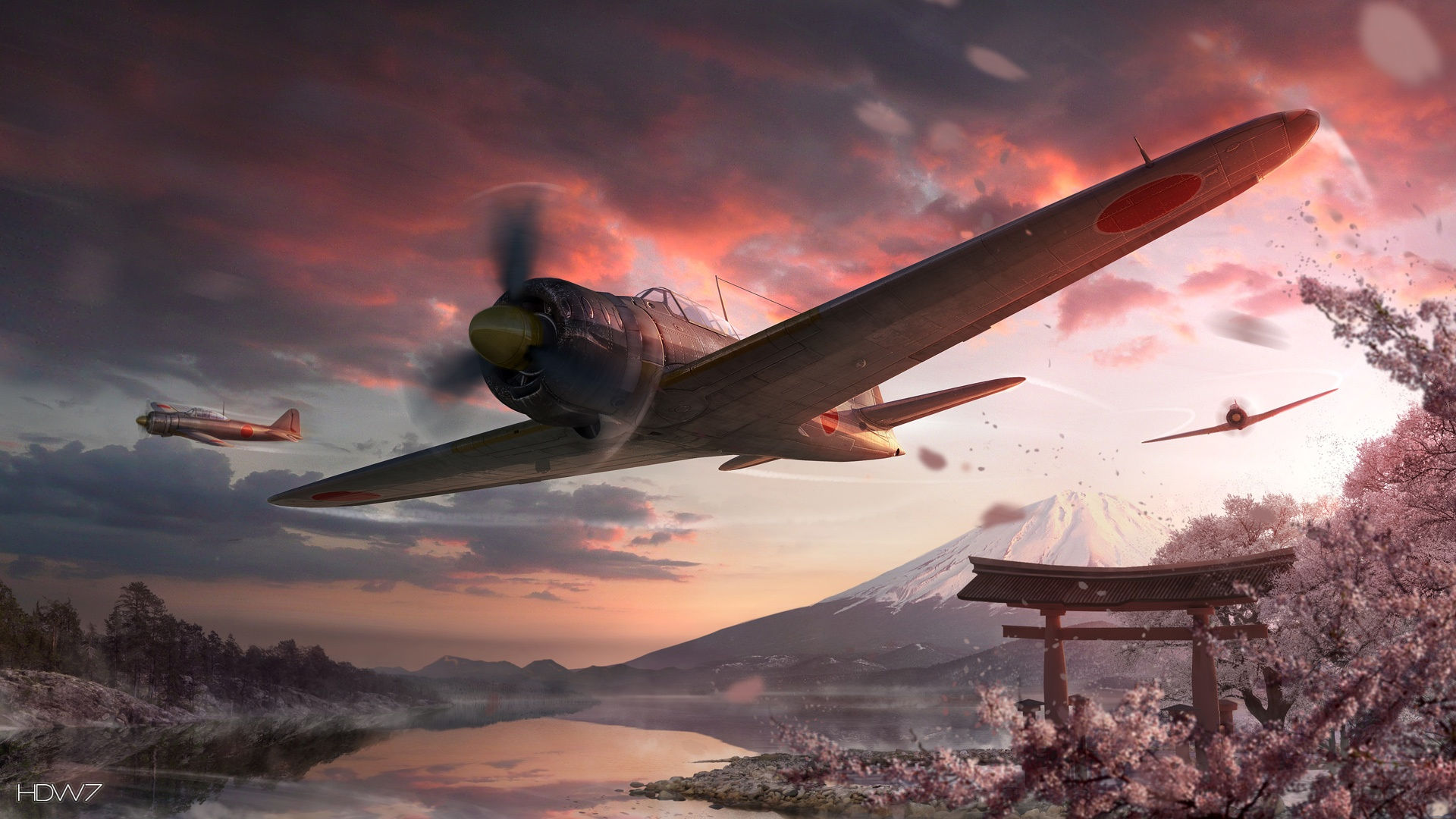 world of warplanes online game 1920x1080
