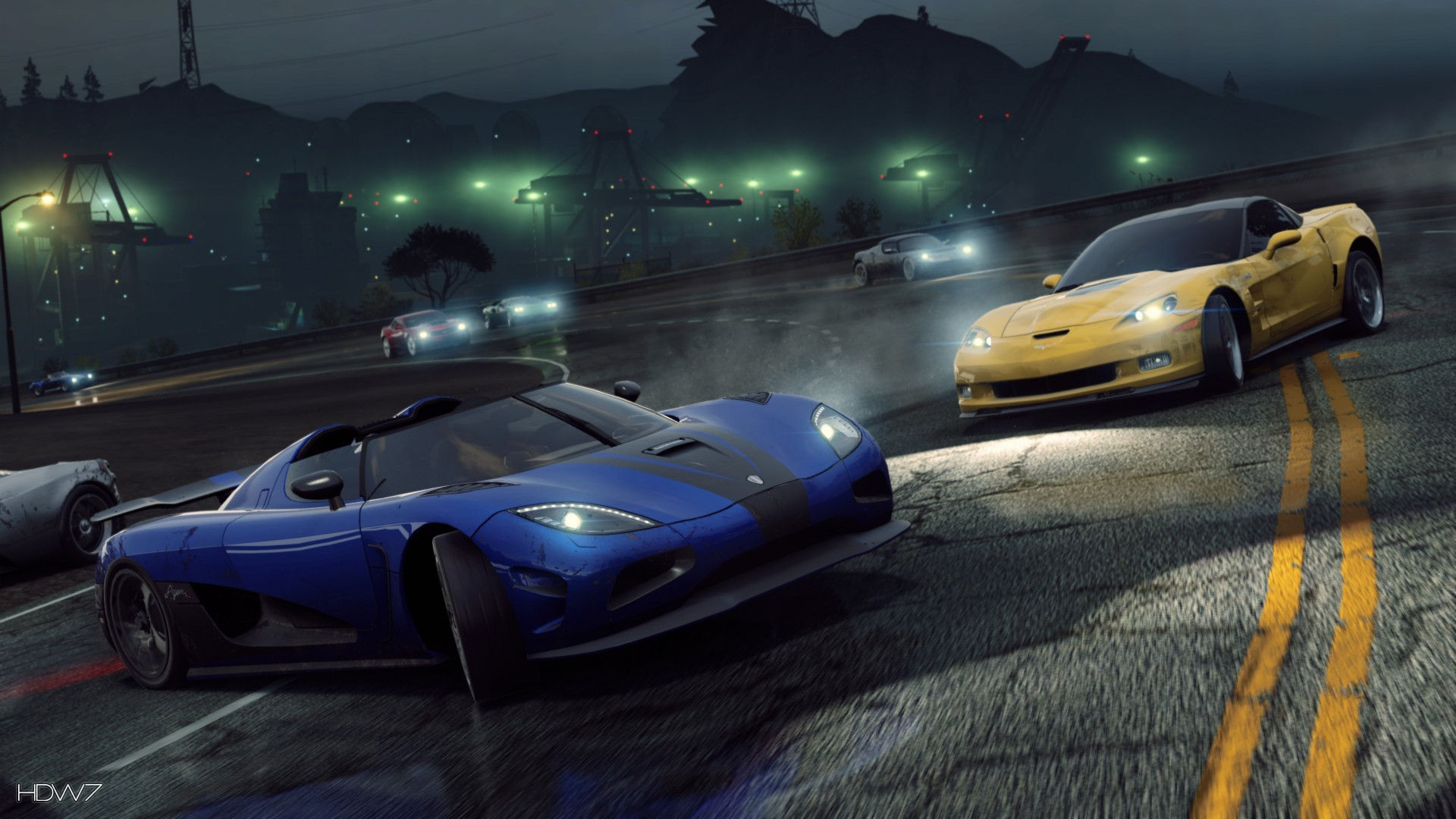Need For Speed Most Wanted 2012 Koenigsegg Agera R Widescreen Hd Wallpaper