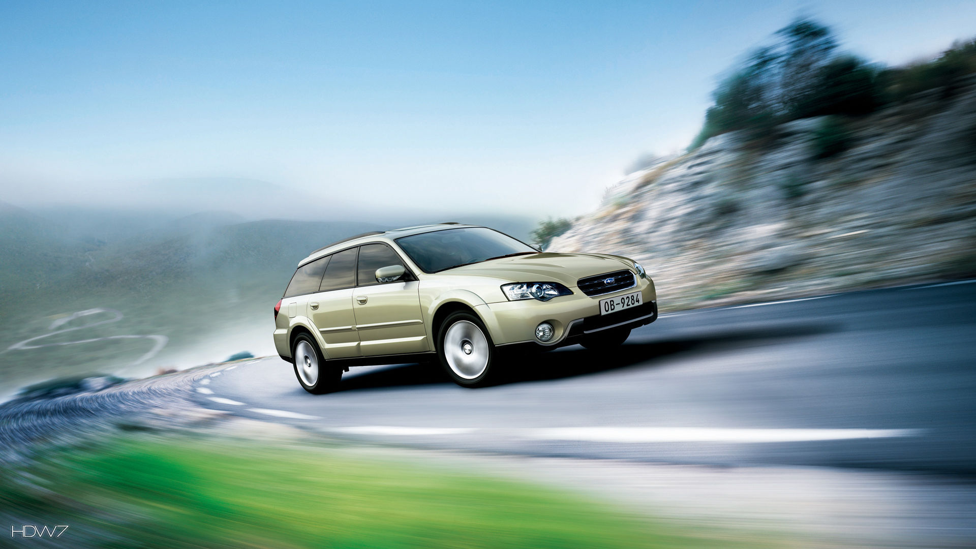 Subaru Outback 30r 2005 Car Hd Wallpaper