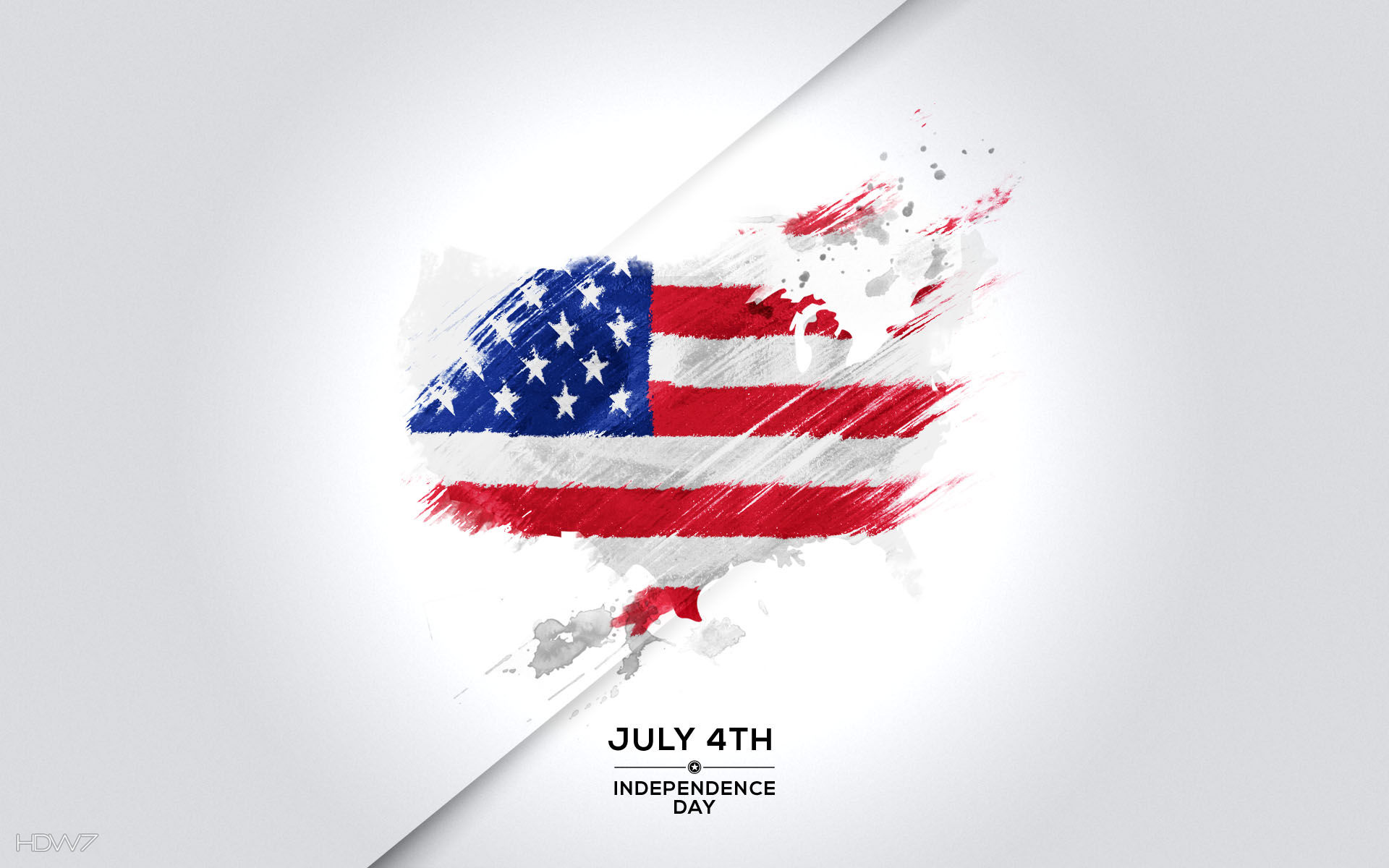 july 4th independence day usa flag map abstract holiday