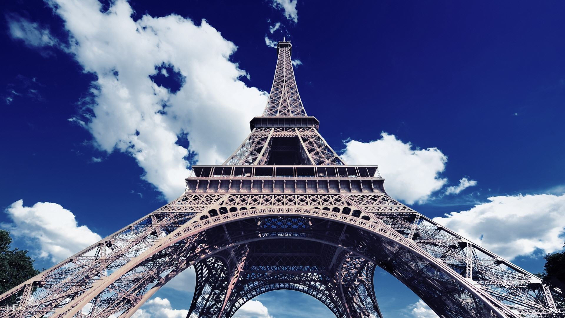Paris Eiffel Tower Wallpaper Hd 1920x1080 Hd Wallpaper Gallery 369
