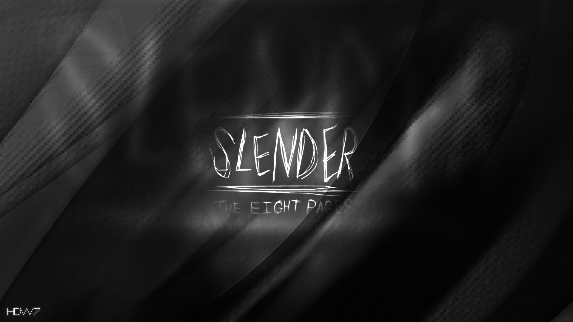 Slender The Eight Pages Horror Game Wallpaper