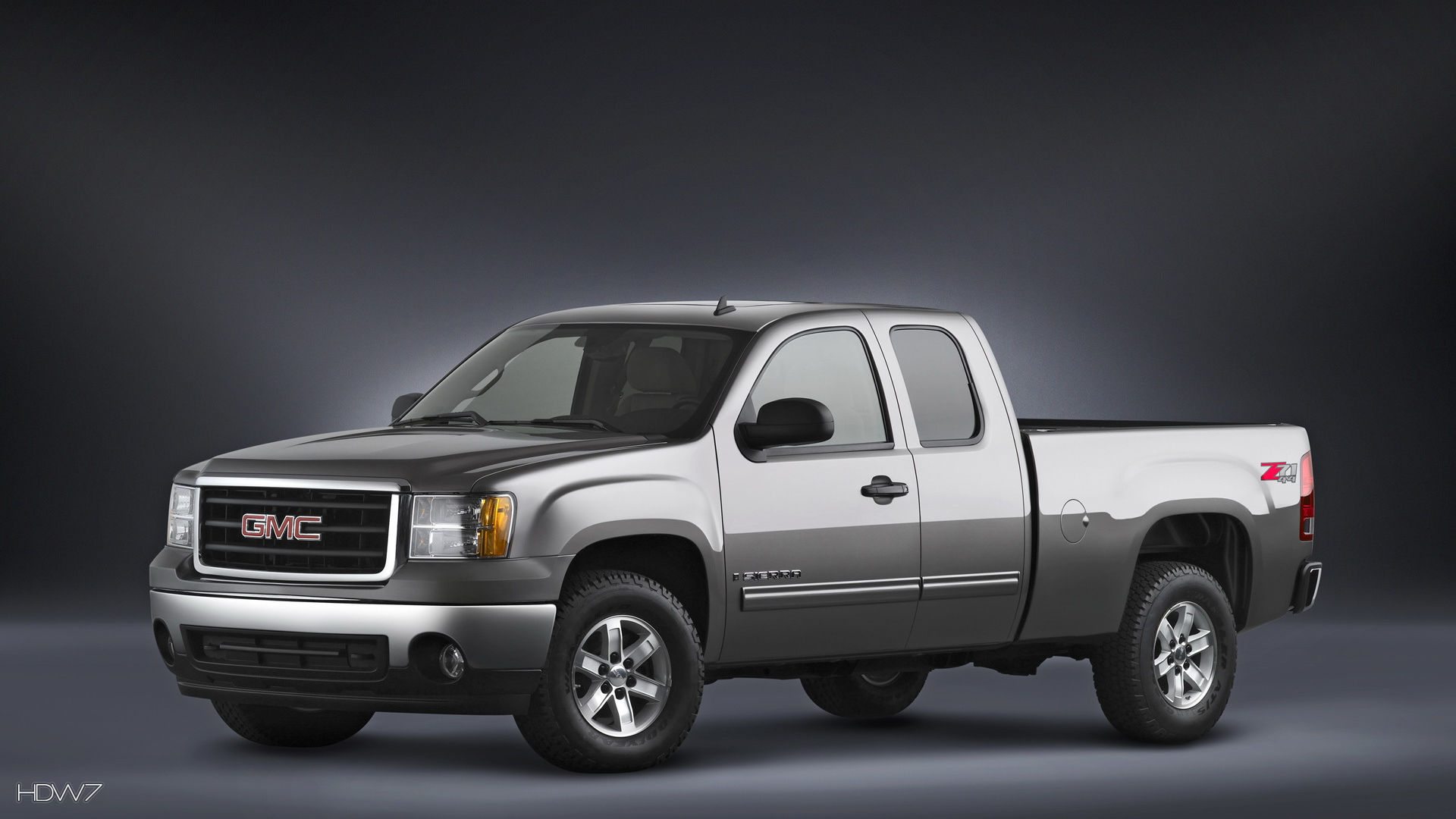 gmc sierra z71 extended cab 2008 car hd wallpaper