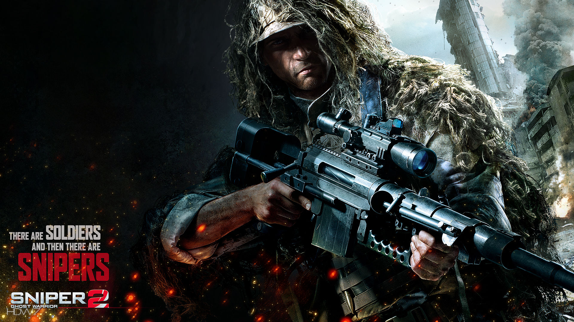 sniper ghost warrior 2 there are soldiers widescreen hd wallpaper