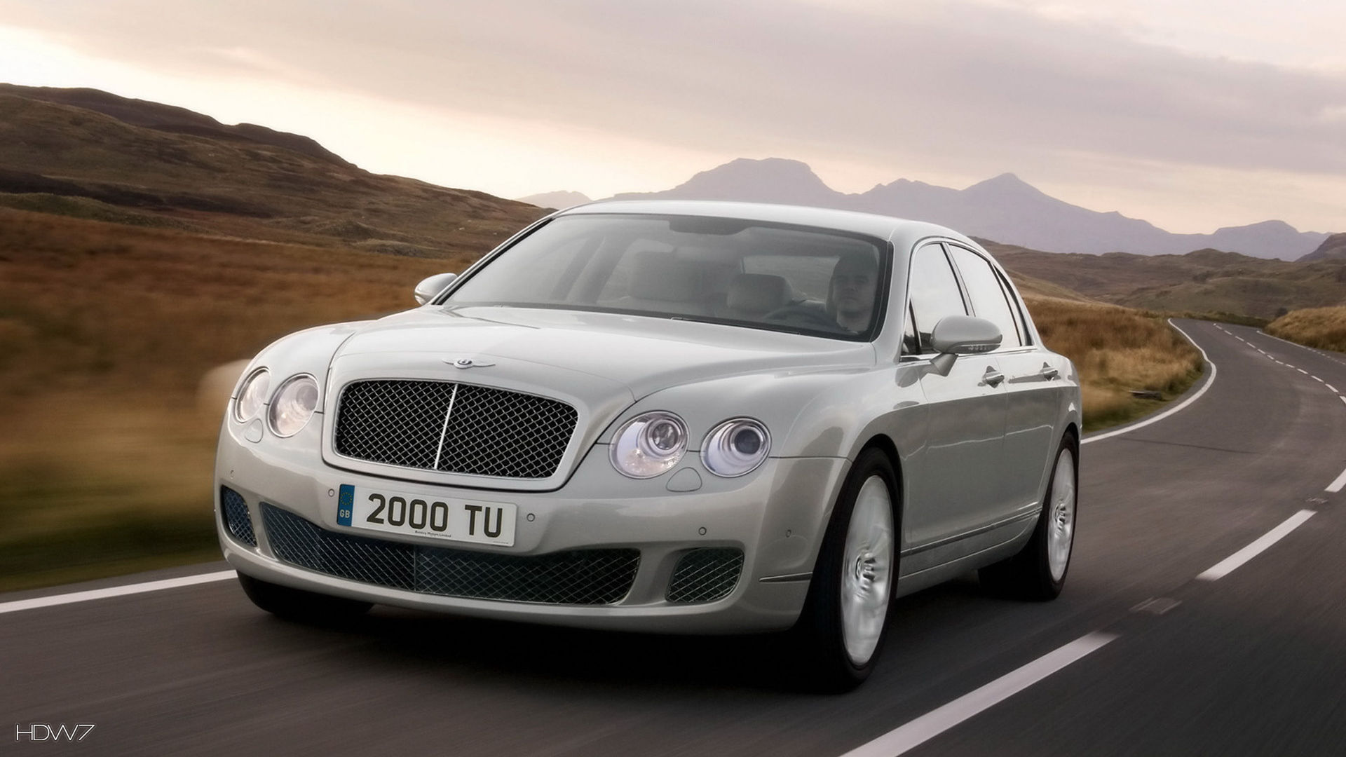 bentley continental flying spur speed 2009 car hd wallpaper