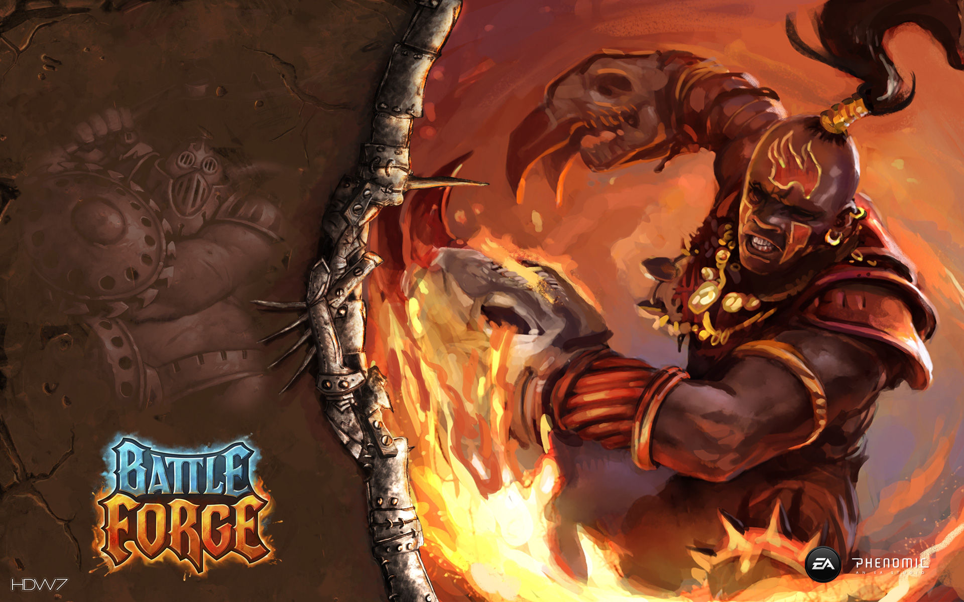 battleforge clawfighter widescreen wallpaper