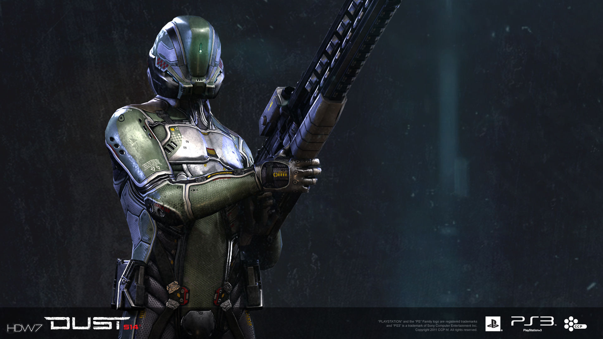 dust 514 scout dropsuit widescreen hd wallpaper