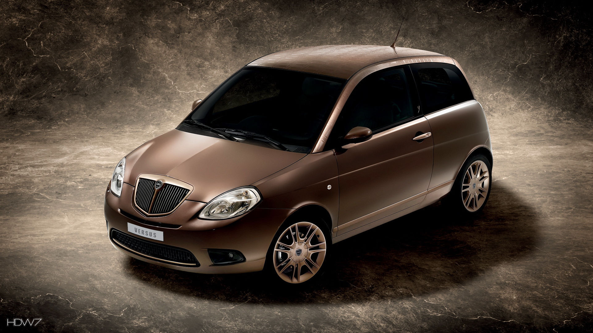 lancia ypsilon versus 2008 car hd wallpaper
