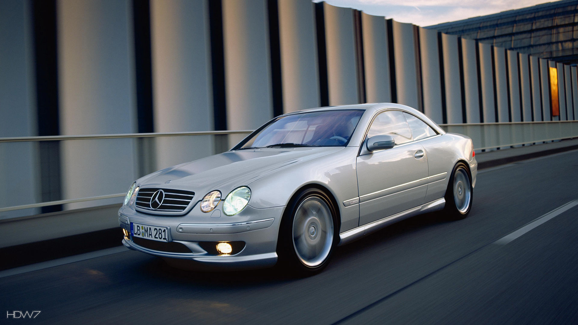 mercedes benz cl55 amg f1 limited edition 2000 car hd wallpaper