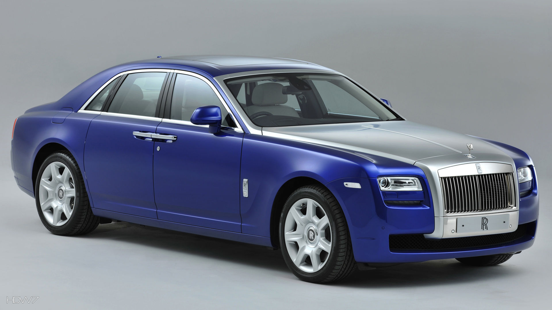 rolls royce ghost bespoke mazarine blue 2012 car hd wallpaper