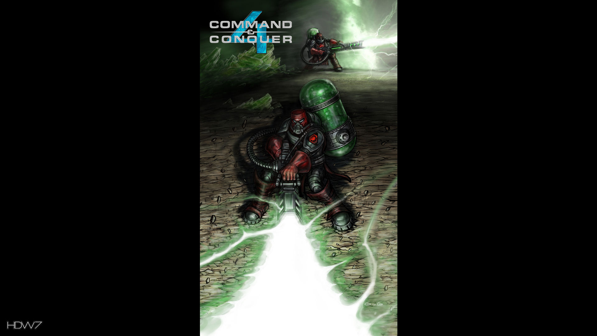 command and conquer 4 tiberium trooper widescreen hd wallpaper