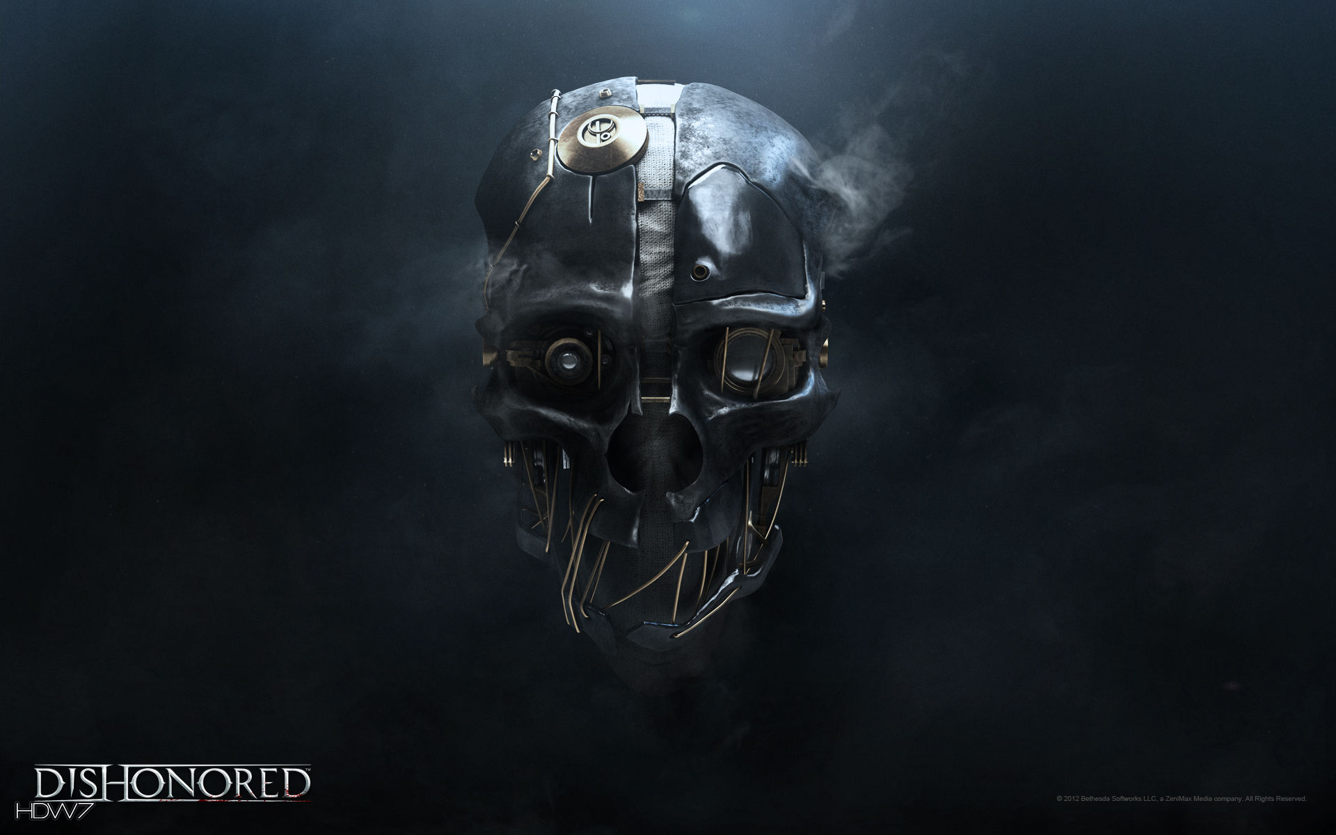 dishonored dishonored mask widescreen wallpaper
