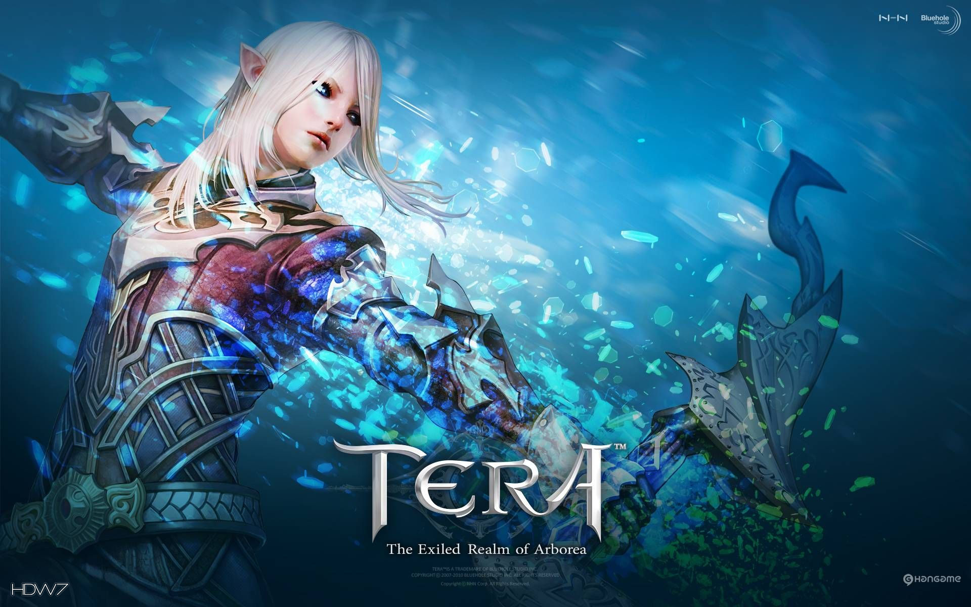 tera the exiled realm of arborea widescreen wallpaper