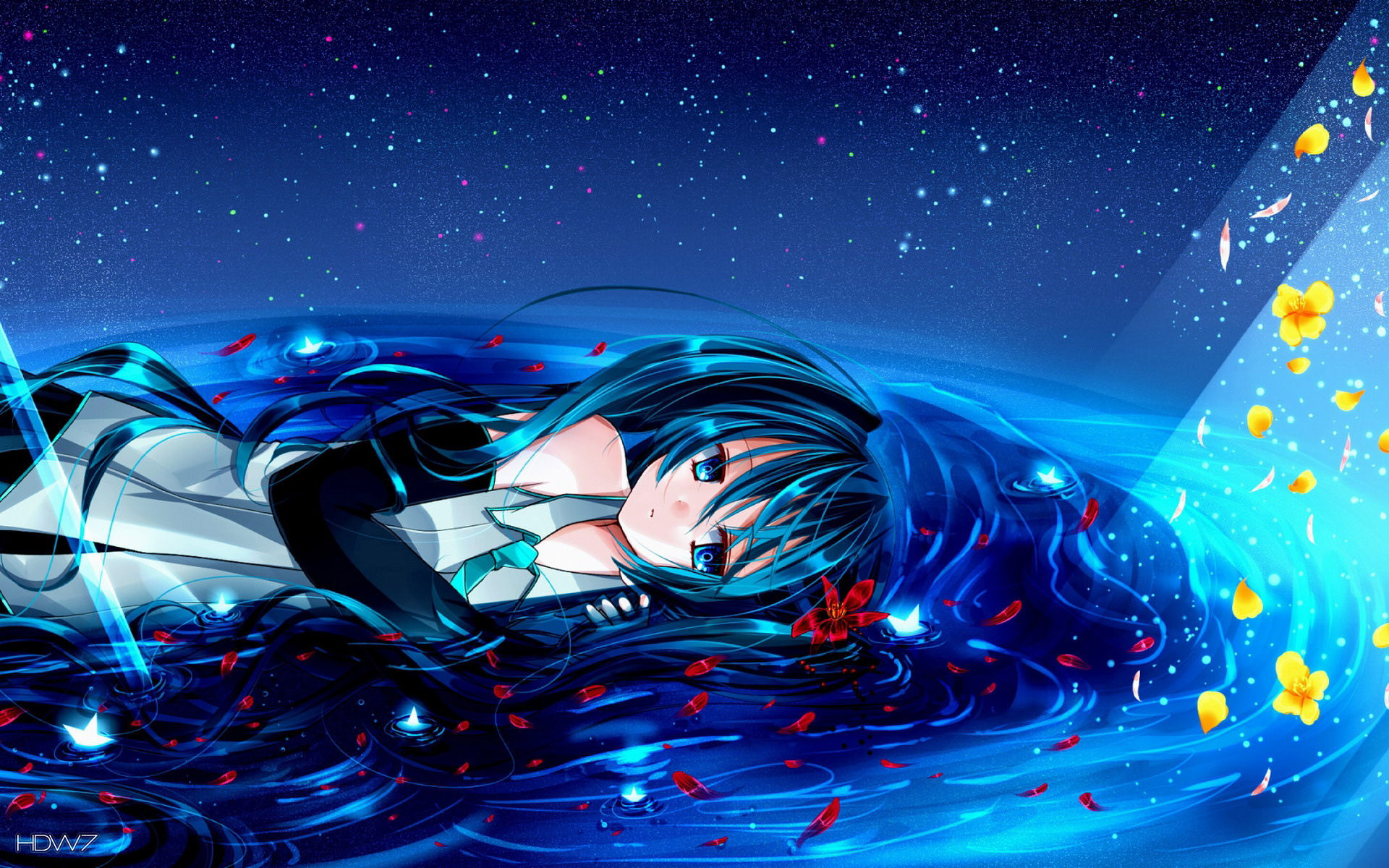 wallpaper anime girl under - photo #12