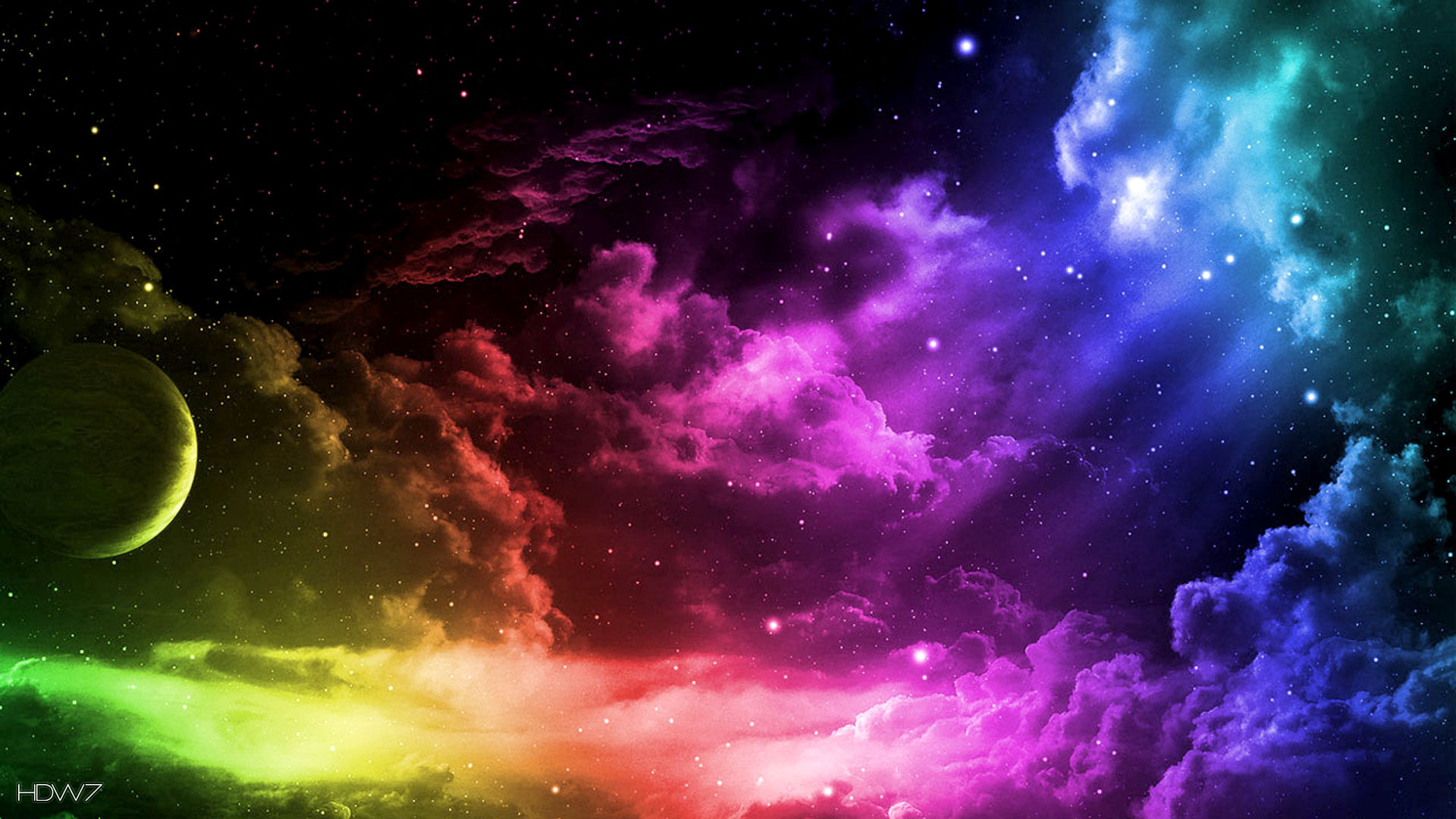free colorful sky clouds desktop backgrounds